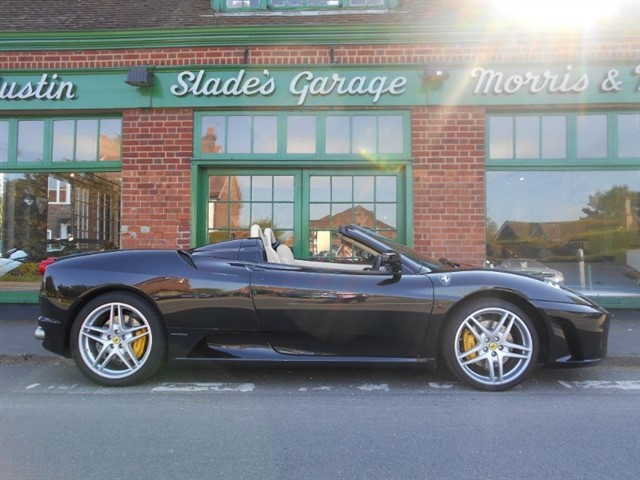 used Ferrari F430 Spider F1 7,000 Miles Only in penn-buckinghamshire