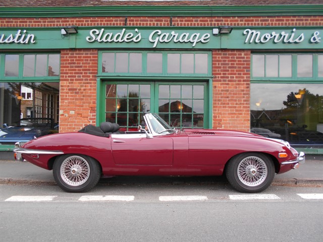 used Jaguar E-Type Roadster Series 2 in penn-buckinghamshire