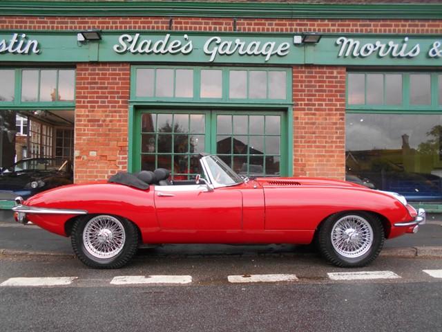 used Jaguar E-Type Series 2 Roadster UK RHD in penn-buckinghamshire