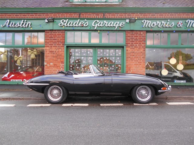 used Jaguar E-Type Roadster Series 1 in penn-buckinghamshire