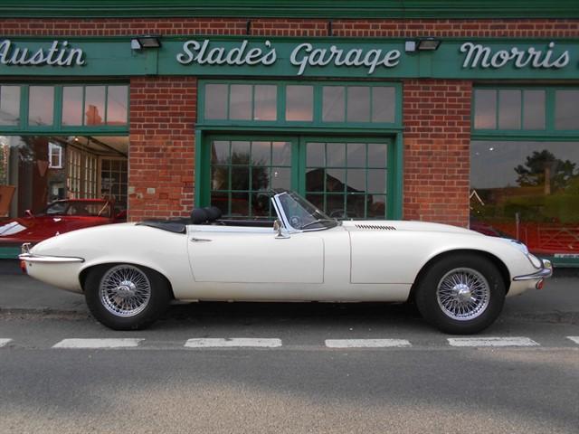 used Jaguar E-Type V12 Series 3 Roadster Manual 16,000 miles 1 Owner in penn-buckinghamshire