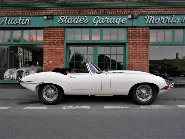 used Jaguar E-Type Series 1 Roadster in penn-buckinghamshire