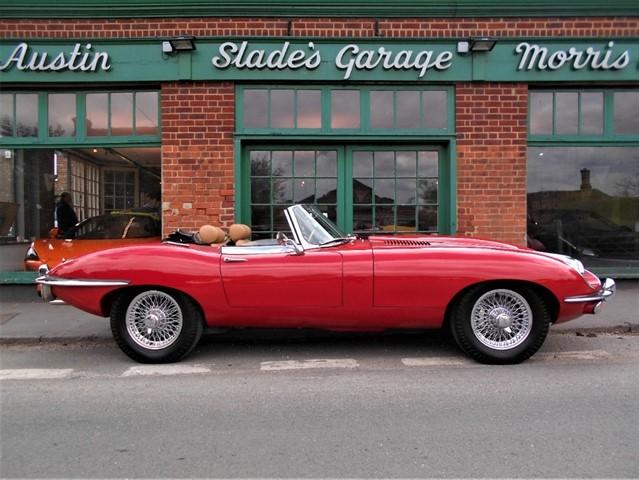 used Jaguar E-Type Series II Roadster in penn-buckinghamshire