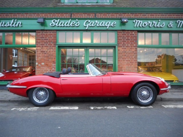 used Jaguar E-Type Series 3 V12 Roadster RHD in penn-buckinghamshire