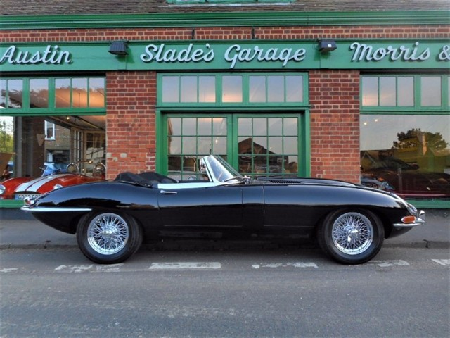 used Jaguar E-Type S1 Roadster 4.2 in penn-buckinghamshire