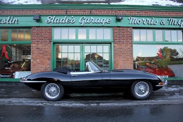 used Jaguar E-Type S1 Roadster 4.2 in penn-buckinghamshire