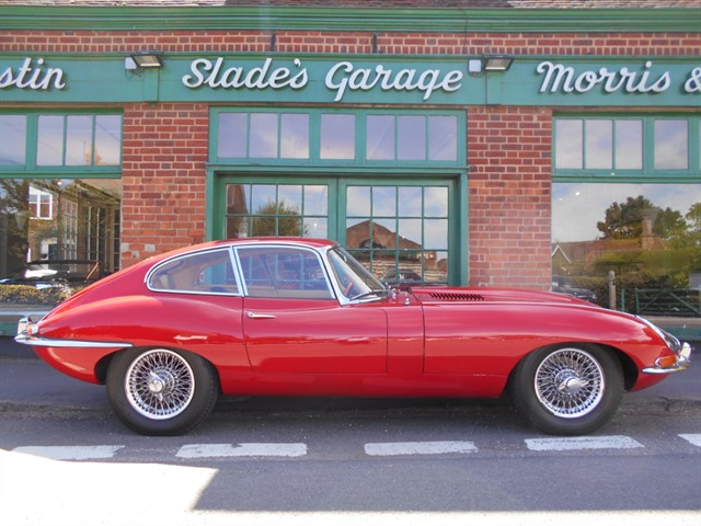 used Jaguar E-Type Series 1 FHC 4.2 UK RHD in penn-buckinghamshire