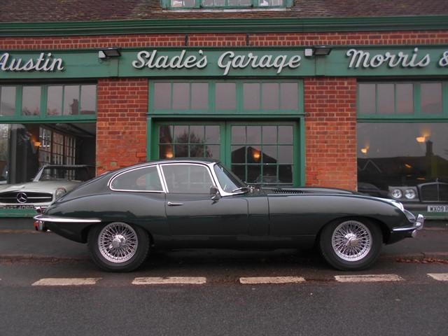used Jaguar E-Type 4.2 FHC Series 2 LHD to RHD Conversion in penn-buckinghamshire