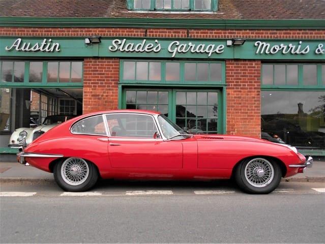 used Jaguar E-Type 4.2 Series 2 FHC 2+2 in penn-buckinghamshire