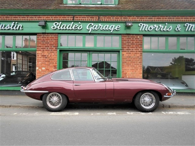 used Jaguar E-Type 3.8 FHC in penn-buckinghamshire