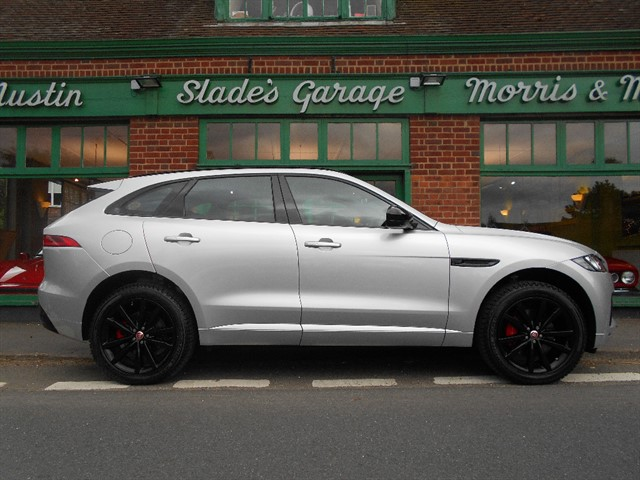 used Jaguar F-Pace V6 S Supercharged 380ps AWD in penn-buckinghamshire