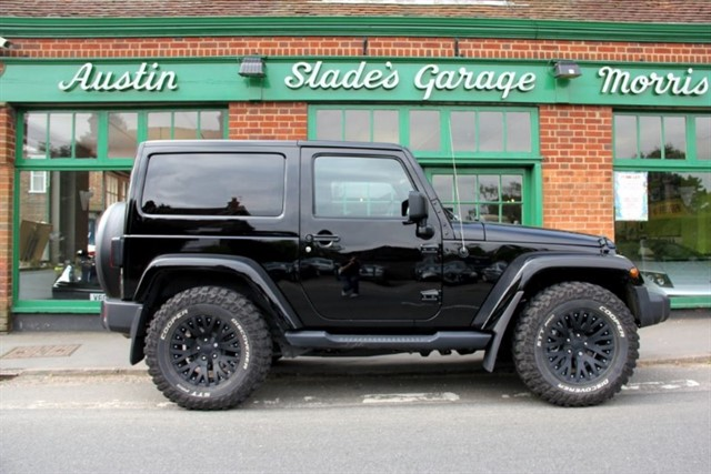 used Jeep Wrangler CRD Overland