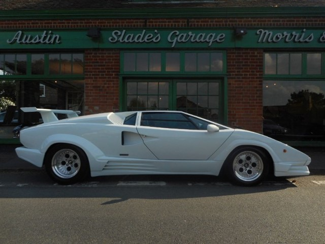 used Lamborghini Countach V12 25th Anniversary RHD Now Sold More Required Urgently in penn-buckinghamshire