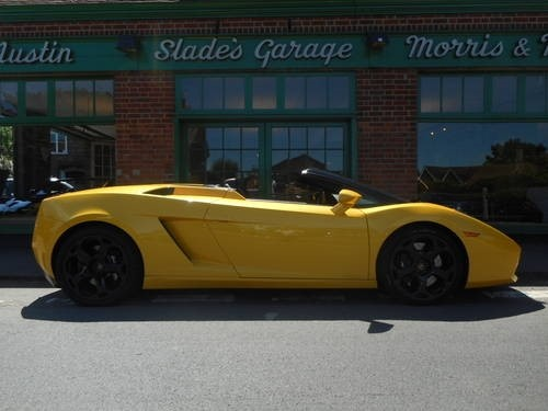 used Lamborghini Gallardo Spyder E Gear in penn-buckinghamshire