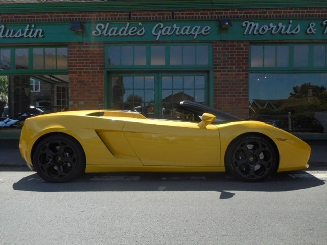 used Lamborghini Gallardo V10 Spyder E Gear in penn-buckinghamshire