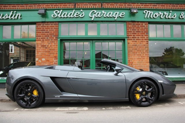 used Lamborghini Gallardo LP 560-4 Spyder E-Gear 2012/62 in penn-buckinghamshire