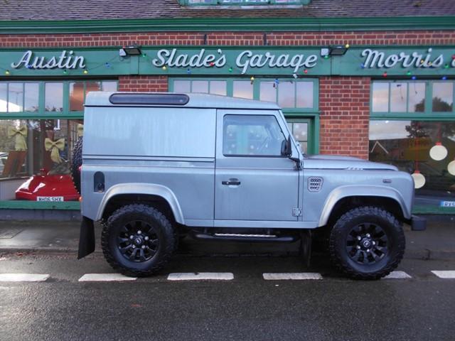 used Land Rover Defender TD HARD TOP XS in penn-buckinghamshire