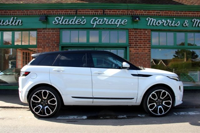 used Land Rover Range Rover Evoque SD4 Pure Tech Overfinch in penn-buckinghamshire