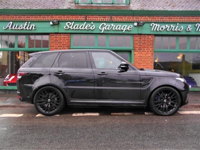 used Land Rover Range Rover Sport V8 SVR in penn-buckinghamshire