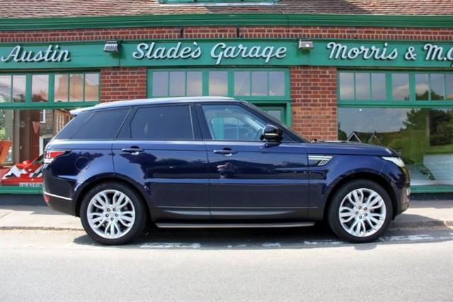 used Land Rover Range Rover Sport SDV6 HSE in penn-buckinghamshire