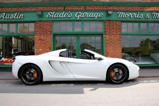 used Mclaren 12C Spider in penn-buckinghamshire