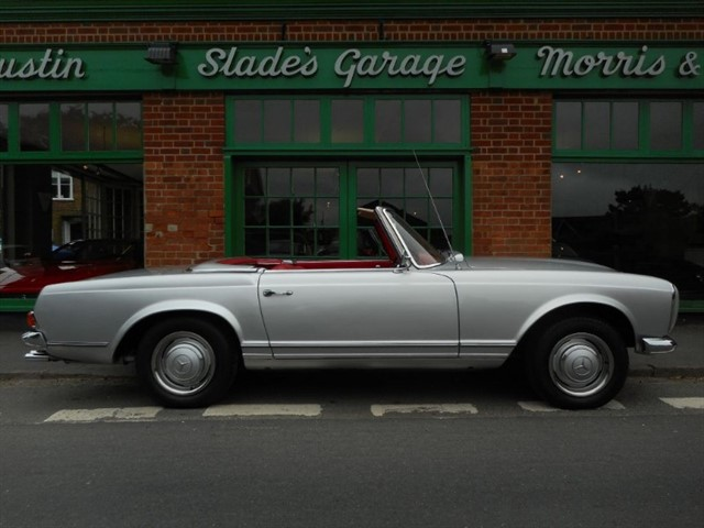 used Mercedes 230 SL Pagoda Automatic in penn-buckinghamshire