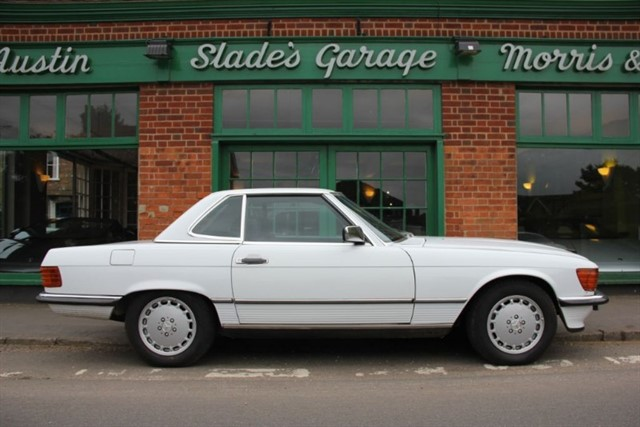 used Mercedes 560SL  R107 LHD in penn-buckinghamshire