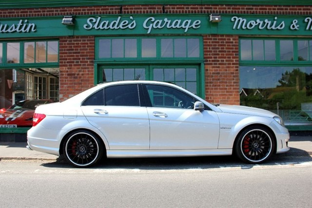 used Mercedes C63 AMG Saloon Performance Pack in penn-buckinghamshire