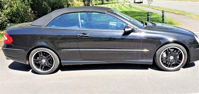 used Mercedes CLK55 AMG  in penn-buckinghamshire