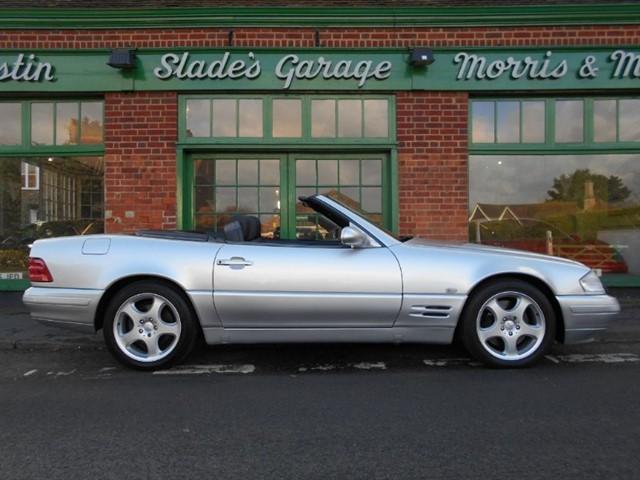 used Mercedes SL 320 Low mileage in penn-buckinghamshire