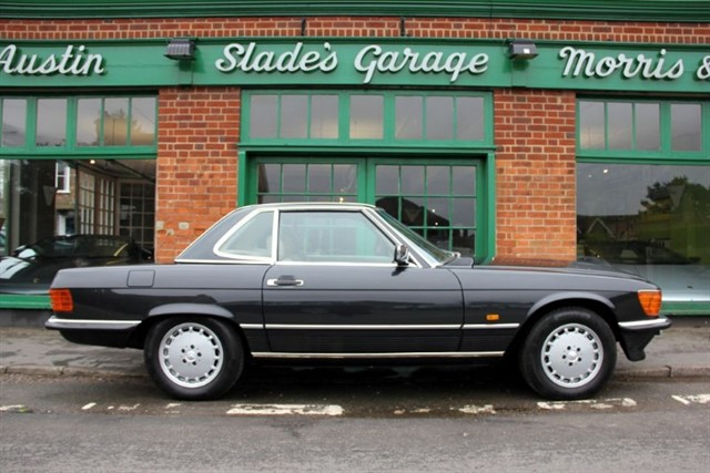 used Mercedes 500 SL R107 in penn-buckinghamshire