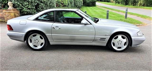 used Mercedes SL500  in penn-buckinghamshire