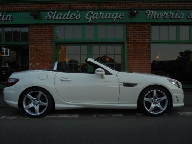 used Mercedes SLK SLK200 BLUEEFFICIENCY AMG Sport in penn-buckinghamshire