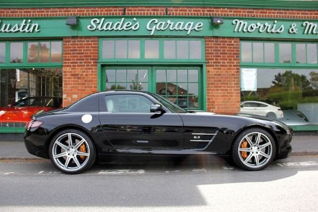 used Mercedes SLS AMG 6.3 Gullwing RHD in penn-buckinghamshire