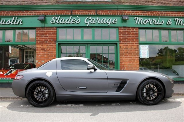 used Mercedes SLS AMG 6.3 V8 Gullwing in penn-buckinghamshire