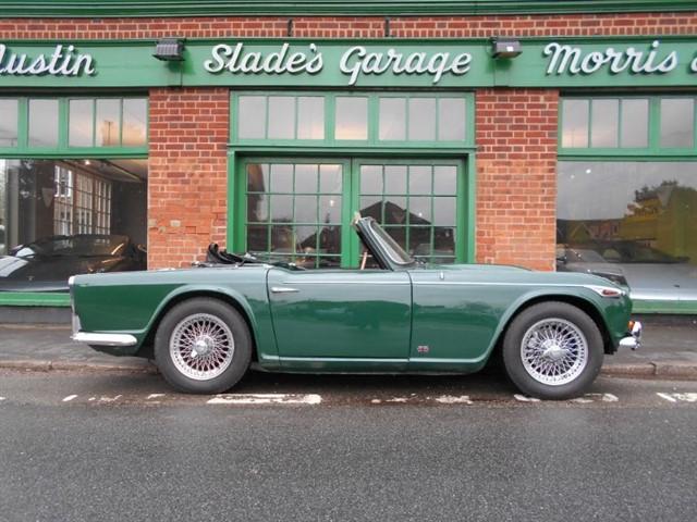 used Triumph TR4  IRS RHD in penn-buckinghamshire