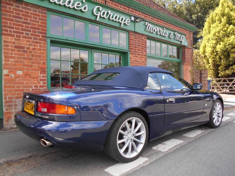 Aston Martin Db7vantage Volante Automatic For Sale