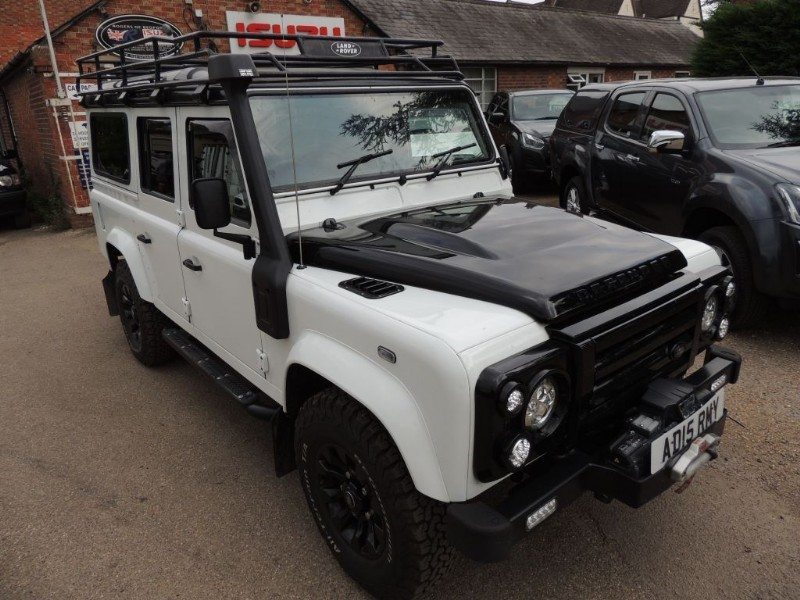 Land Rover Defender 110 TD XS STATION WAGON for Sale - Rogers of ...