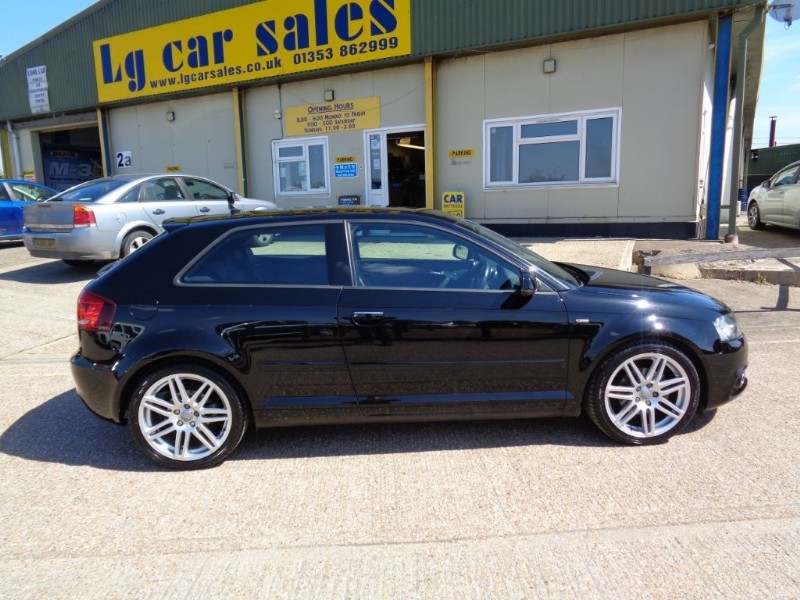 used Audi A3 TDI S LINE in ely-cambridgeshire