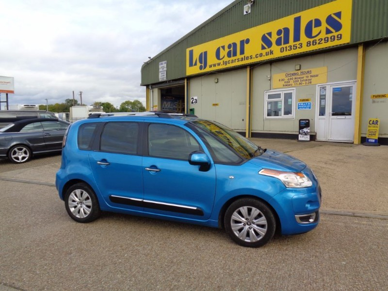 used Citroen C3 Picasso EXCLUSIVE HDI in ely-cambridgeshire