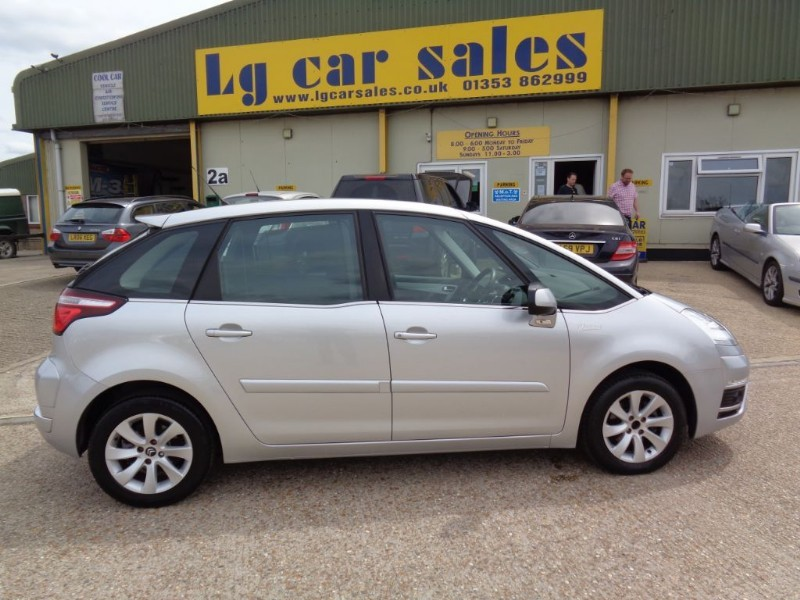 used Citroen C4 Picasso VTR PLUS E-HDI EGS in ely-cambridgeshire