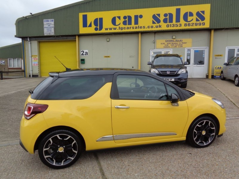 used Citroen DS3 E-HDI DSTYLE PLUS in ely-cambridgeshire
