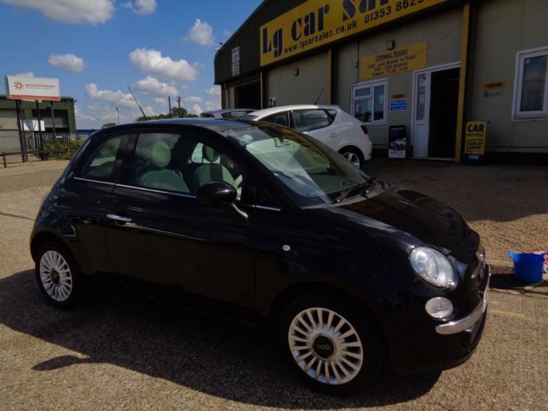 used Fiat 500 LOUNGE in ely-cambridgeshire