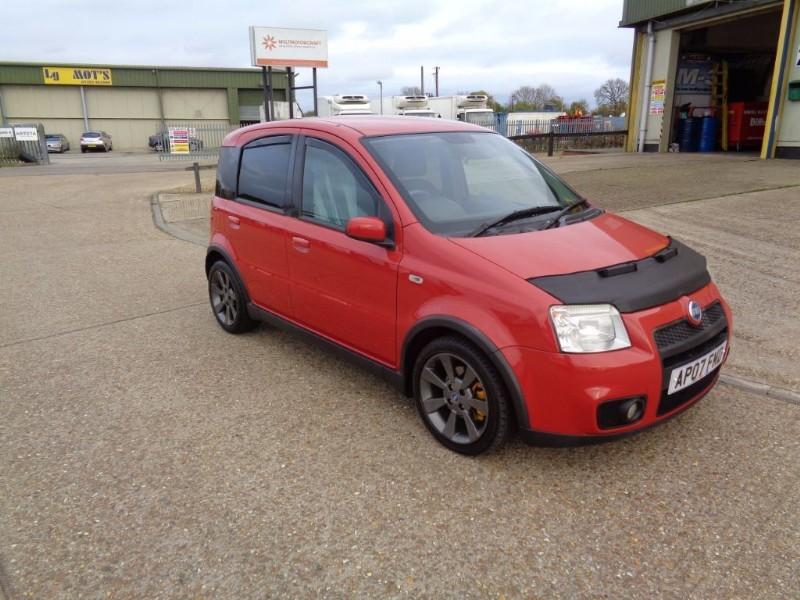 used Fiat Panda 100HP in ely-cambridgeshire
