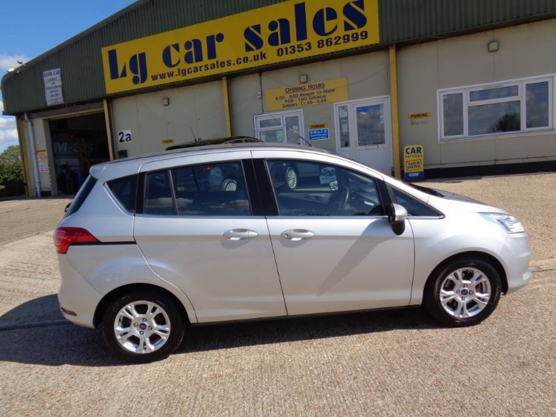 used Ford B-Max ZETEC in ely-cambridgeshire