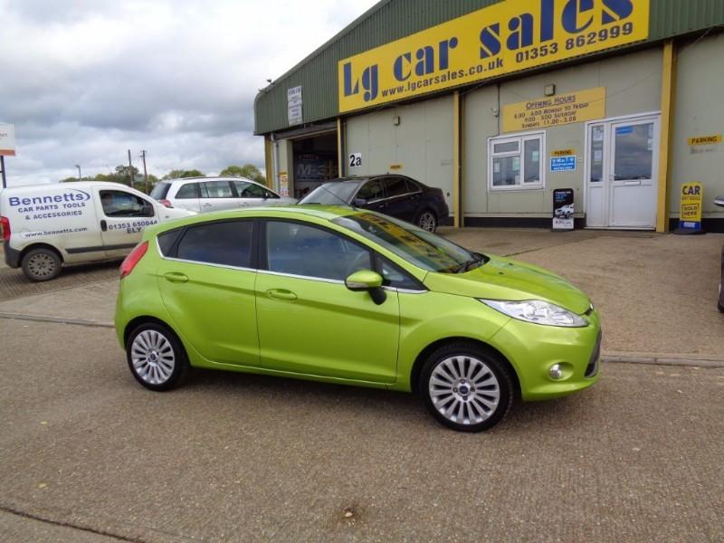 used Ford Fiesta TITANIUM in ely-cambridgeshire