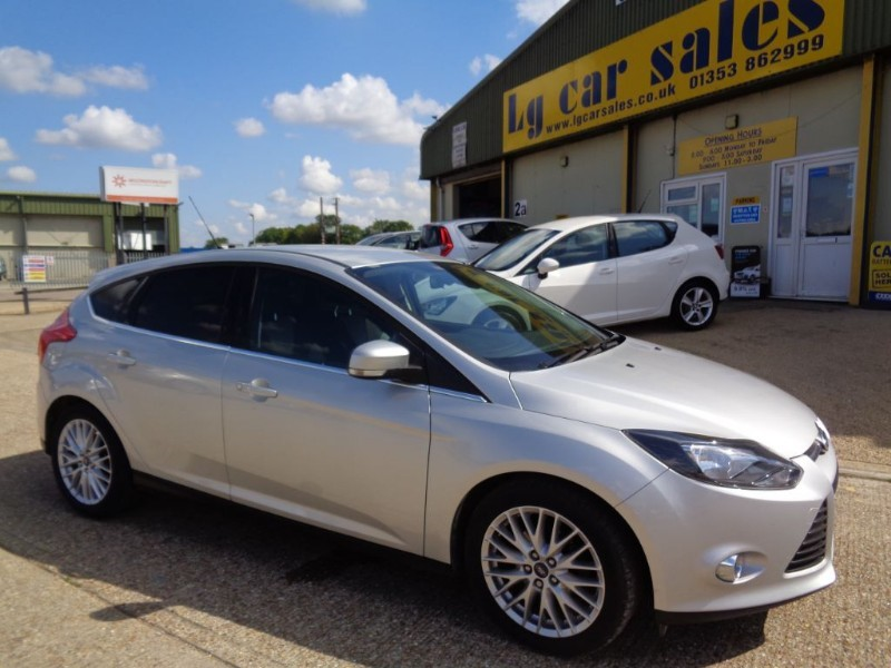 used Ford Focus ZETEC in ely-cambridgeshire