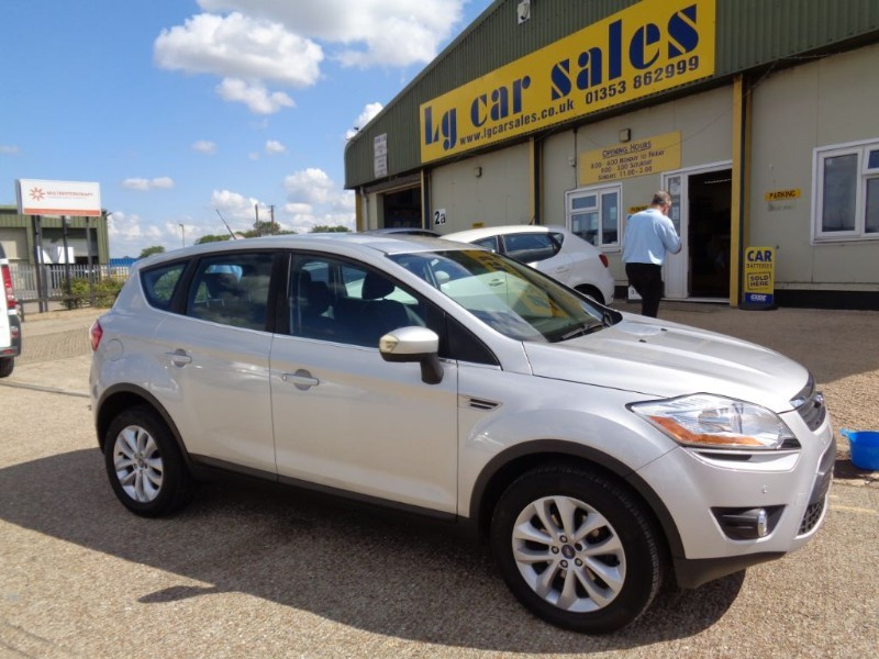 used Ford Kuga TITANIUM TDCI AWD in ely-cambridgeshire
