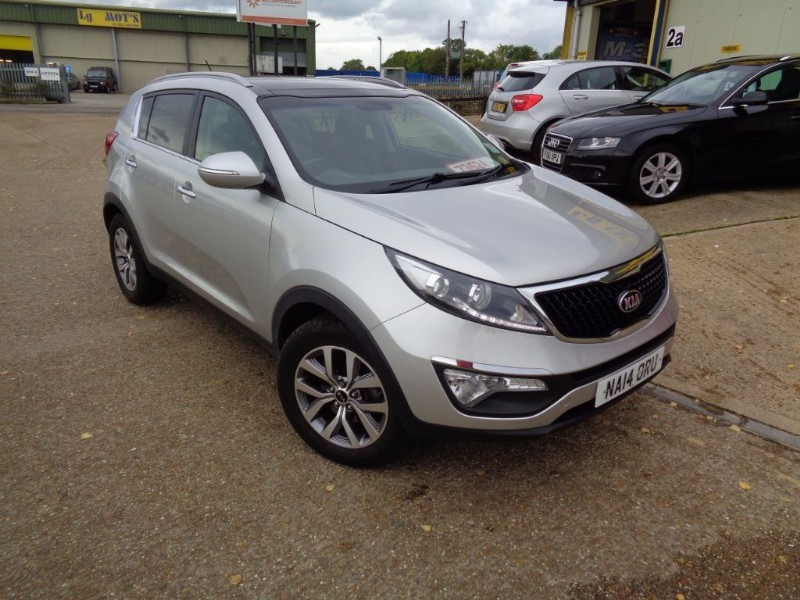 used Kia Sportage 2 ISG in ely-cambridgeshire
