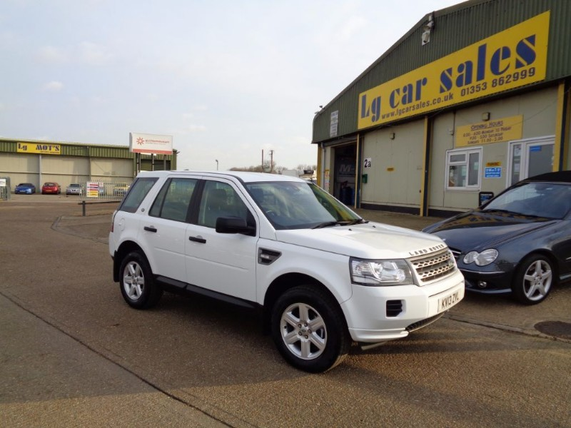 used Land Rover Freelander SD4 GS in ely-cambridgeshire